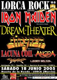 STRYPER playing with DREAM THEATER & IRON MAIDEN!