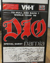 Narnia tours with Dio and Stratovarious!